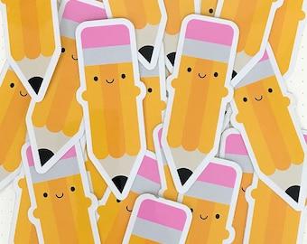 Kawaii Pencil Stickers
