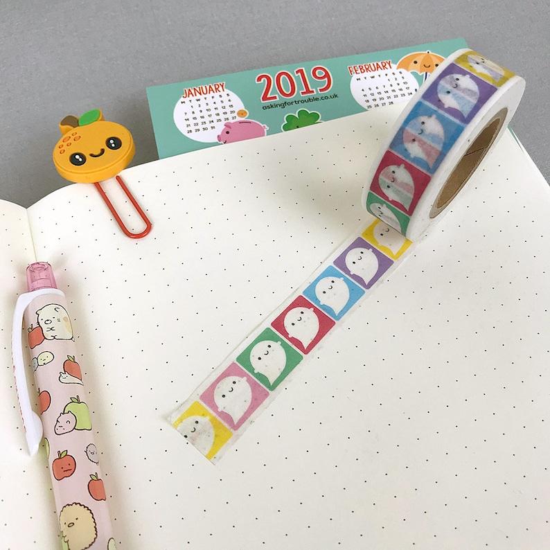 10 Rolls blending Cartoon Deco Washi Tape Adhesive funny Making Sticker 15mm Wide