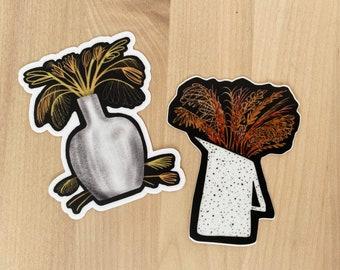 Vases Sticker Set