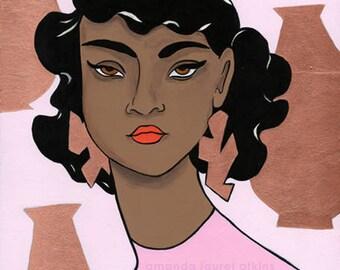 Coppersmith 8x10 print by Amanda Laurel Atkins