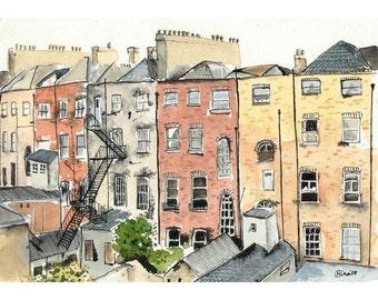 Chimneys in Dublin