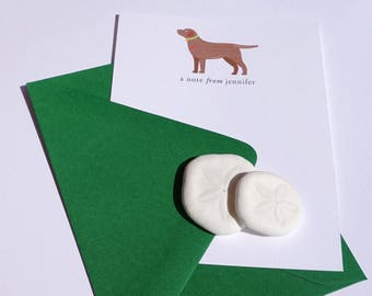 Chocolate Lab Notecards by Taylor Made designs