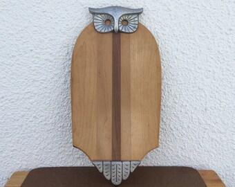 Vintage Owl Cutting Board Sexton