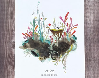 Limited Edition 2022 Calendar with FREE sticker