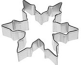 "Snowflake Cookie Cutter, large, 5"" great for needlefelting ornaments and a zillion other crafty uses"