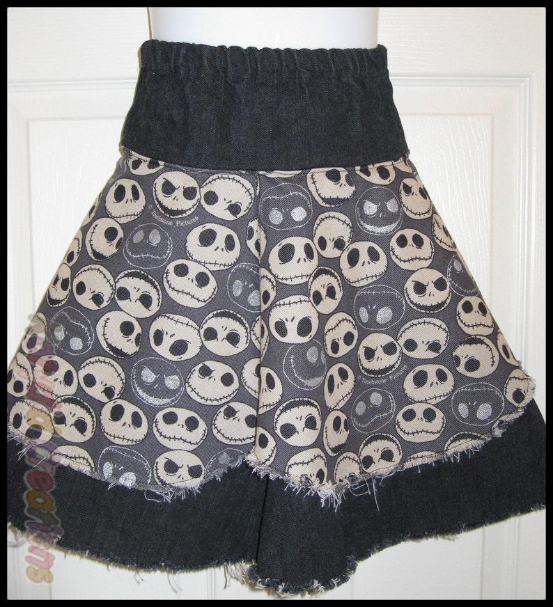 Black Jack Denim Skirt  Kids Size 4/5/6 image 0