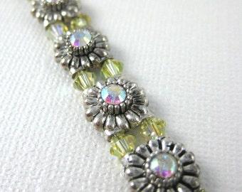 Yellow classic sparkle bracelet