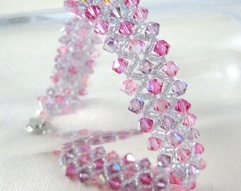 Pink passion sparkle bracelet