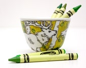 Japanese style snack cup - Green Deer