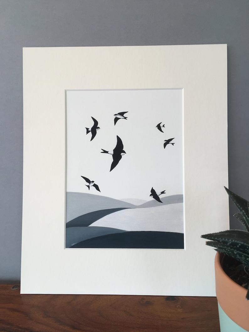 House Martin fine art print 'Summer Splendour' summer image 0