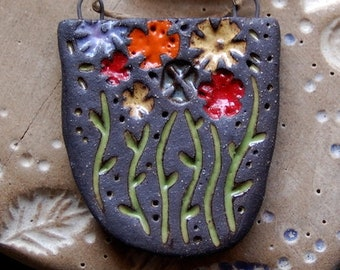 Super Bloom / Ceramic Pendant to be made