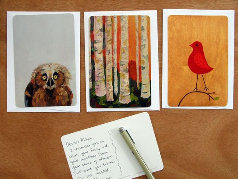 Forest Postcard Pack