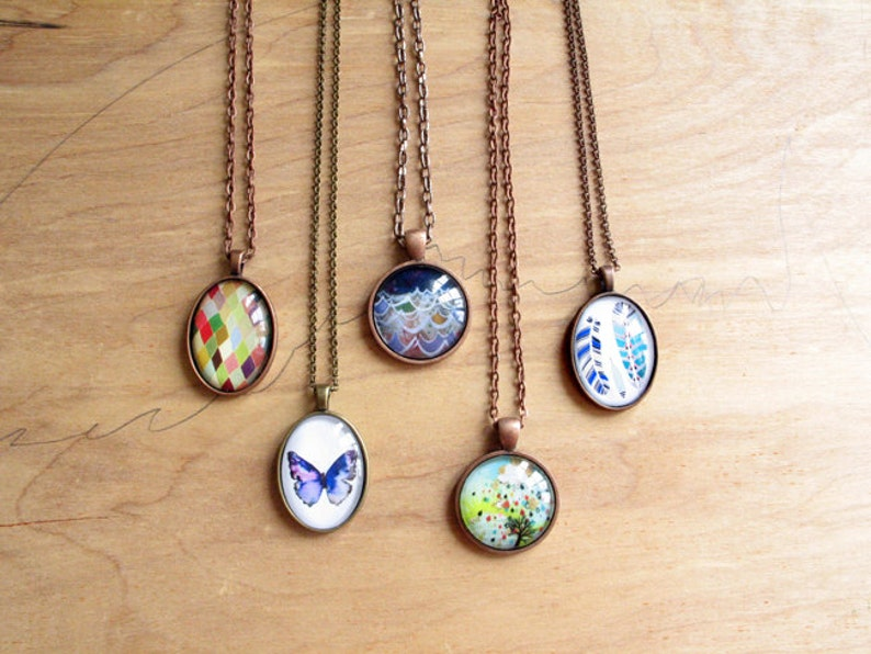 Bridesmaid Gift Set of 5  necklace gift set  Mix and Match  image 0