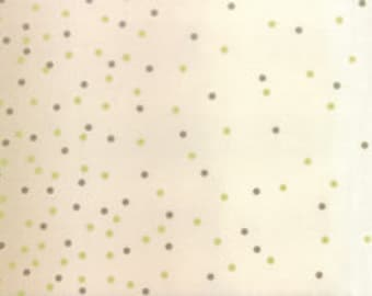 Ombre Confetti Metallic - Sand: sku 10807-215M cotton quilting fabric by V and Co. for Moda Fabrics