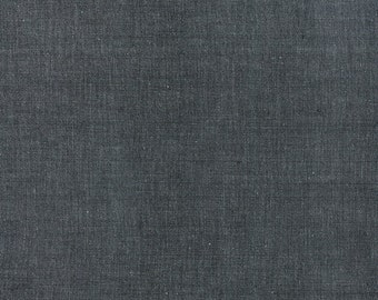 """34"""" piece/remnant - Black Cross Weave Woven cotton quilting fabric from Moda 12119-53"""