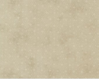 Strawberries and Rhubarb - Eyelet in Birch Gray: sku 20407-16 cotton quilting fabric yardage by Fig Tree & Co for Moda Fabrics