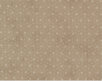 Strawberries and Rhubarb - Eyelet in Slate Gray: sku 20407-17 cotton quilting fabric yardage by Fig Tree & Co for Moda Fabrics