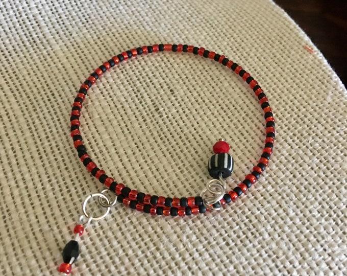 Tianjin Talk Bracelet 2 - Wrap Around Memory Wire Bracelet