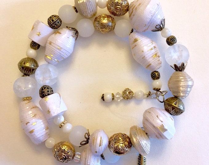 TwinkleTwinkle - Wrap Around Paper Bead Bracelet