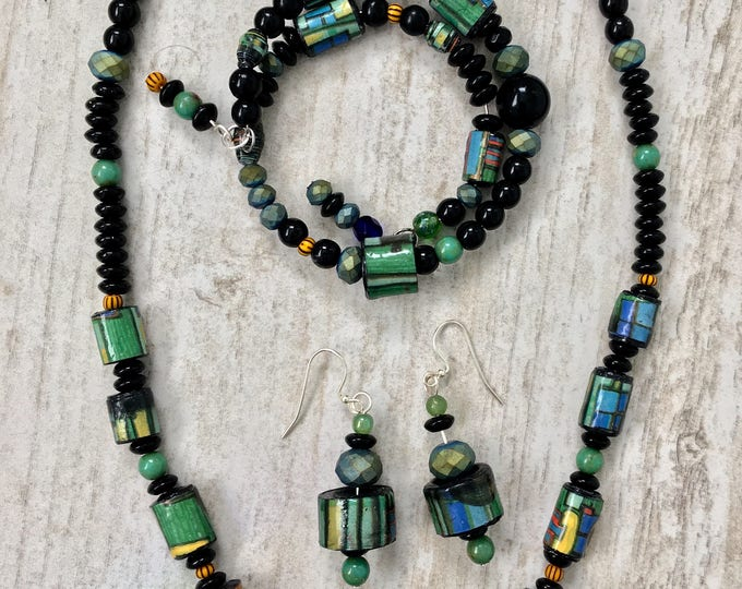 Micro Miro - one of a kind Necklace