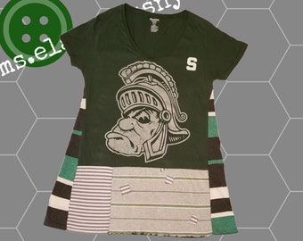 Michigan State Women's Apparel, MSU Spartans, MSU Alumni, Swing Shirt, Michigan State Clothing, Graduation Gift, Michigan State Spartans