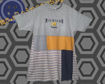 Michigan Women's Apparel, U of M Wolverines, Tailgate Clothes, Alumni, The Big House, Swing Shirt, Michigan Wolverines, Go Blue