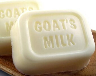 Goat Milk Soap, Natural Unscented Goatmilk Soap, Moisturizing Soap