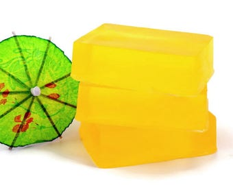 Lemonade Scented Glycerin Soap Bar, Homemade Soap