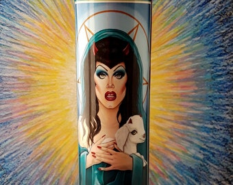 Sister Sharon Needles Candle