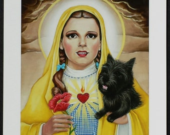 Our Lady of the Plains signed Giclee print