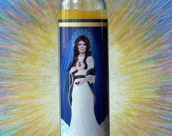 Our Lady Of The Coals Candle