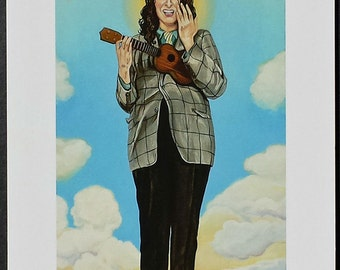 The Coronation of Tiny Tim signed Giclee print