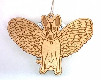 Angel Dog Ornament