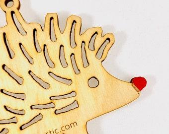 Rudolf Hedgehog Ornament
