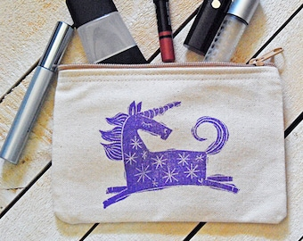 Unicorn Zip Pouch