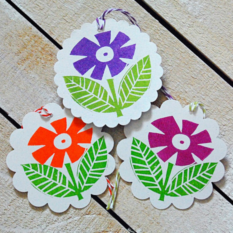 Floral Gift Tags image 0
