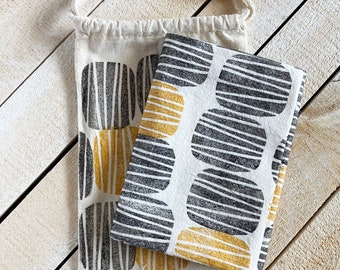 Mod Pattern Tea Towel