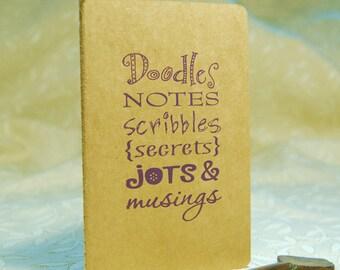 Doodles Moleskine Notebook