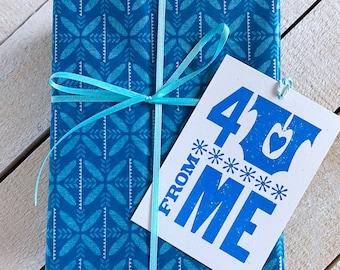 4 U Letterpress Gift Tags