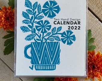 2022 Letterpress Desk Calendar