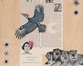Mixed Media Art Print - WXYZ
