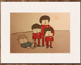 Wes Anderson THE ROYAL TENENBAUMS Limited Edition Movie Print