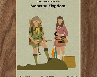 MOONRISE KINGDOM 22x16 Wes Anderson Movie Poster Print