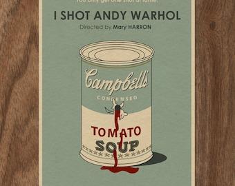 I Shot Andy Warhol 16x12 Movie Poster