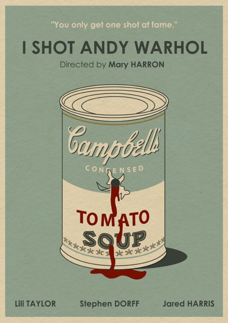 I Shot Andy Warhol 16x12 Movie Poster | Etsy