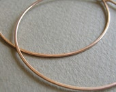 Hoops - 14k Rose Gold-Filled - custom for Emily