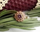Marianne - Purple Sapphire Ring