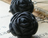 Danse Macabre Earrings  - reserved for ingie