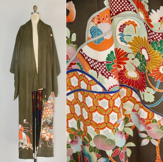 Sylvan | 1930s kimono | silk robe | vintage kimono