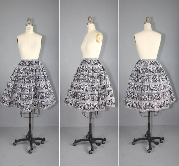 1950s / vintage skirt / nelly de grab / TULUM nove
